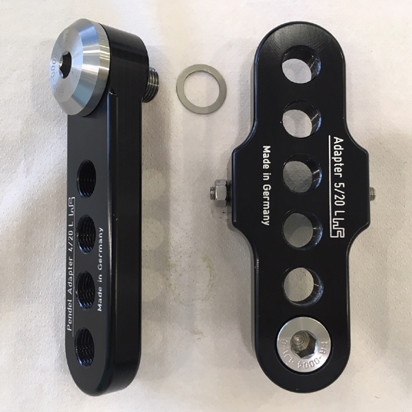 Kurbelarmverkürzer + Pendelarm Premium Standard Modell